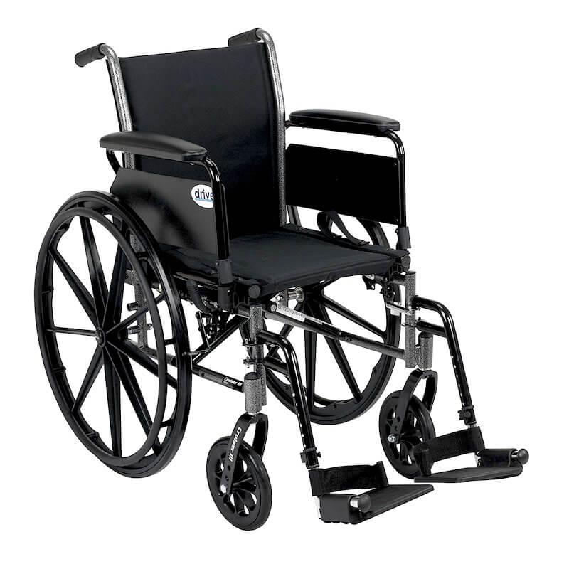 Drive medical silver sport 1 wheelchair.